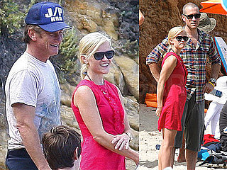 Pictures of Reese Witherspoon at a Fourth of July Barbecue With Jim Toth, Sean Penn, and Tim Robbins