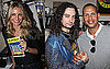 Pictures of Cameron Diaz and Alex Rodriguez Hanging Out Backstage With the Cast of Rock of Ages