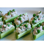Chicken Salad in Celery Ribs