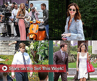 Pictures of Julia Roberts, Russell Brand, Ed Westwick and More on Set