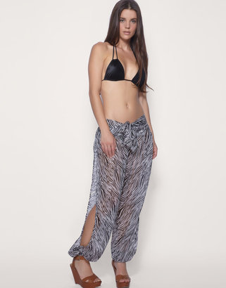 Asos Split Side Zebra Beach Trouser ($48)