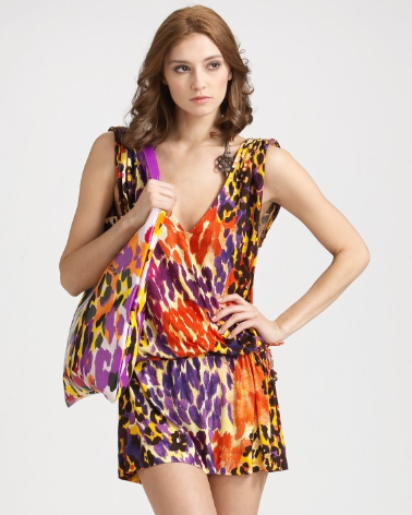 Diane von Furstenberg Uhla Cover-Up ($128, originally $255)