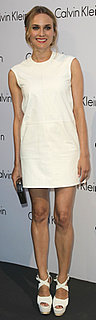 Diane Kruger Wears White to Calvin Klein