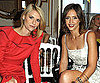 Slide Picture of Claire Danes and Jessica Alba at Valentino Show in Paris Fashion Week
