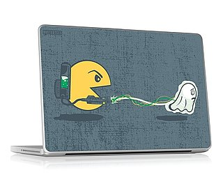 BustedTees and GelaSkins Laptop Decals