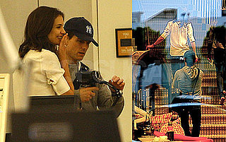 Pictures of Tom Cruise and Katie Holmes Shopping at Barneys