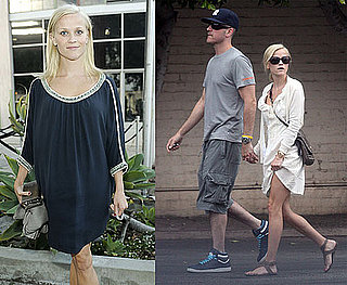 Pictures of Reese Witherspoon Holding Hands With Boyfriend Jim Toth