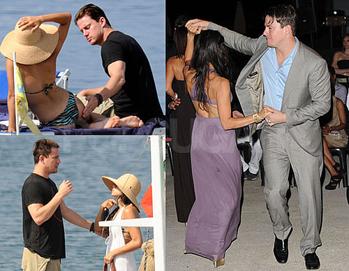 Channing Tatum and Jenna Dewan Dancing in Italy 2010-07-12 19:00:02