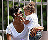 Slide Picture of Halle Berry and Nahla at Griffith Park