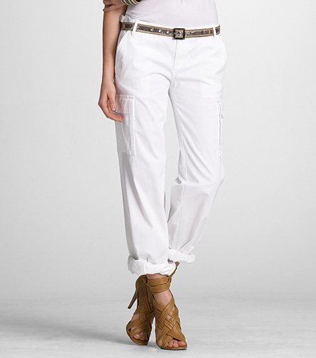 Tory Burch White Cargo Pant ($93, originally $185)