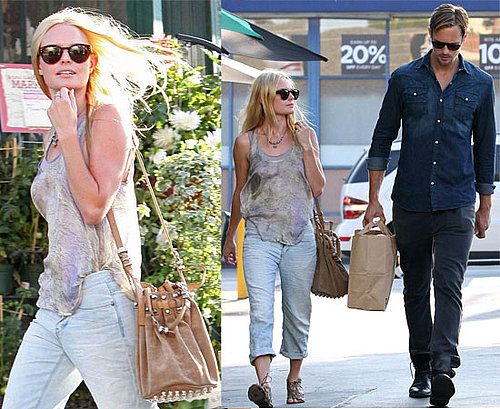 Kate Bosworth and Alexander Skarsgard ShopTogether in LA