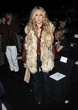 February 2008: Front Row at Bill Blass