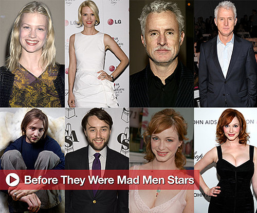 Early Photos of Mad Men Stars, Including Jon Hamm, January Jones, and Christina Hendricks