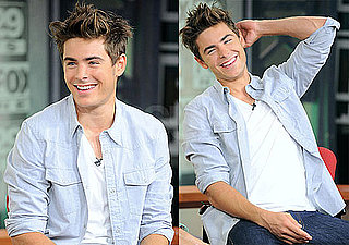 Pictures of Zac Efron on Good Day Philadelphia