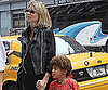 Slide Picture of Heidi Klum With Johan in New York