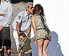 Slide Picture of Jennifer Lopez and Marc Anthony With Max in Malibu