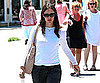 Slide Picture of Jennifer Garner Shopping in Brentwood