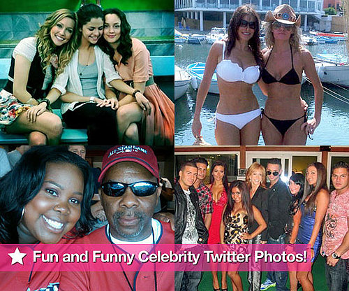 Selena Gomez, Sofia Vergara, Amber Riley and the Cast of Jersey Shore in This Week's Fun and Funny Celebrity Twitter Photos!