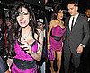 Pictures of Amy Winehouse and Reg Traviss At Psychosis Premiere