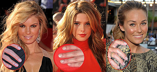 New Celebrity White Nail Polish Trend