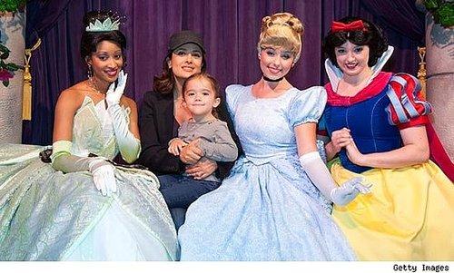 Salma Hayek: Walt Disney World