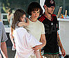 Slide Picture of Katie Holmes and Suri on Toronto Set of The Kennedys