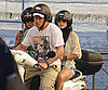 Slide Picture of Channing Tatum and Jenna Dewan in Italy on Scooter