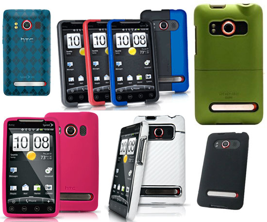 7 Cases For Your HTC EVO 4G