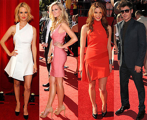Ashley Greene, Zac Efron, Marissa Miller, January Jones, Brooklyn Decker at 2010 ESPY Awards 2010-07-15 16:00:13