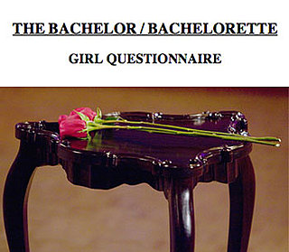 Questions on ABC's The Bachelor Application Form