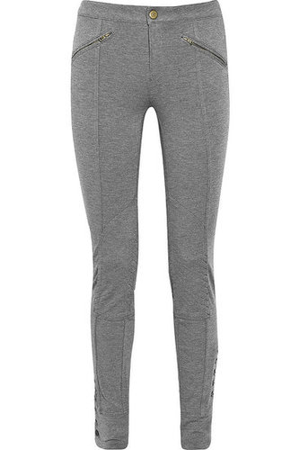 Marc by Marc Jacobs|Anya buttoned jersey leggings|NET 260