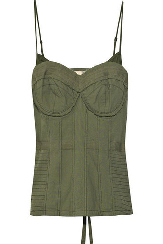 Elizabeth and James|Cotton military-style corset|365