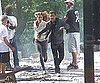 Slide Picture of Shia LaBeouf and Rosie Huntington-Whiteley Filming Transformers 3 2010-07-17 07:00:16