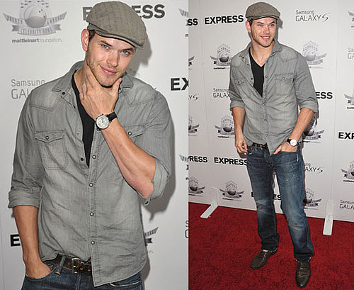 Kellan Lutz at Bowling with the Stars in Hollywood