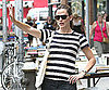 Slide Picture of Jennifer Garner Hailing a Cab in NYC