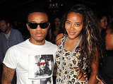 Shad Gregory Moss and Angela Simmons attended the Trina Turk show, cuties.
