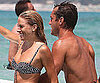 Slide Picture of Sienna Miller Bikini and Jude Law Shirtless
