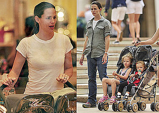 Pictures of Jennifer Garner, Violet Affleck, and Seraphina Affleck Shopping in NYC