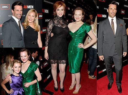 Jon Hamm, Christina Hendricks and More at the Premiere of Mad Men 2010-07-21 18:00:00