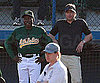 Slide Picture of Brad Pitt on Set of Moneyball