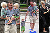 Pictures of Liev, Alexander, and Samuel Schreiber Playing at the Park in LA