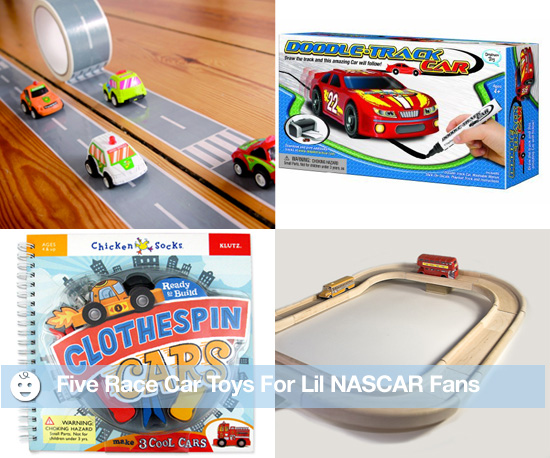 5 Race Car Toys For Lil NASCAR Fans