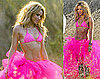 Shakira Bikini Pics in Pink For Ibiza Photo Shoot