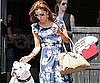 Slide Picture of Eva Longoria Leaving Toast in LA