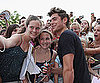 Pictures of Zac Efron at Charlie St. Cloud Event in St. Louis