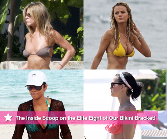 Jennifer, Halle, Brooklyn, and Katy: The Inside Scoop on the Elite 8 of Our Bikini Bracket!
