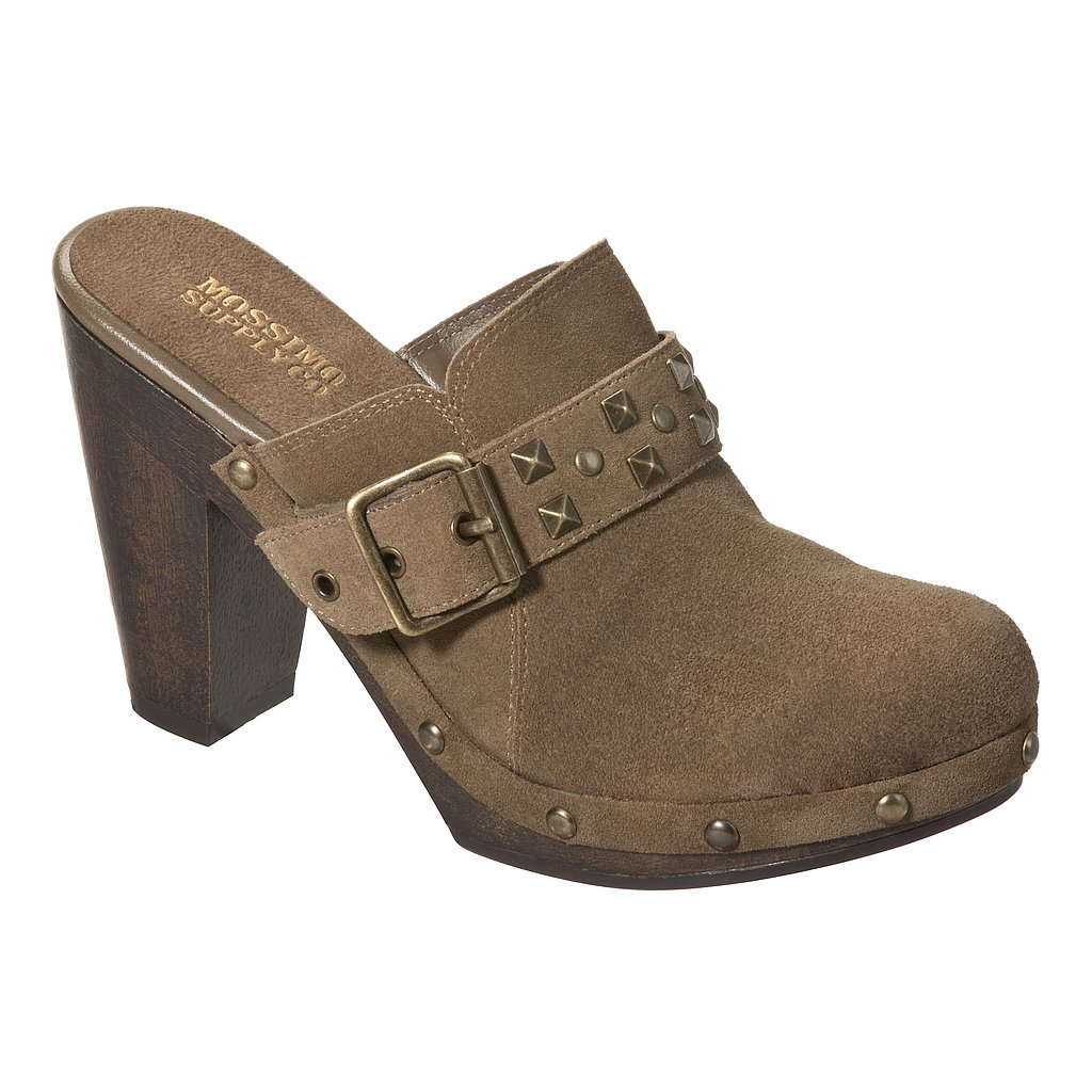 Mossimo Genuine Suede Studded Clogs