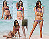 Pictures of Alessandra Ambrosio in Bikinis on Beach For Victoria's Secret