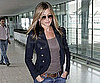 Slide Picture of Jennifer Aniston Leaving London Through Heathrow