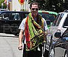 Slide Picture of Matthew McConaughey Leaving Gym in LA